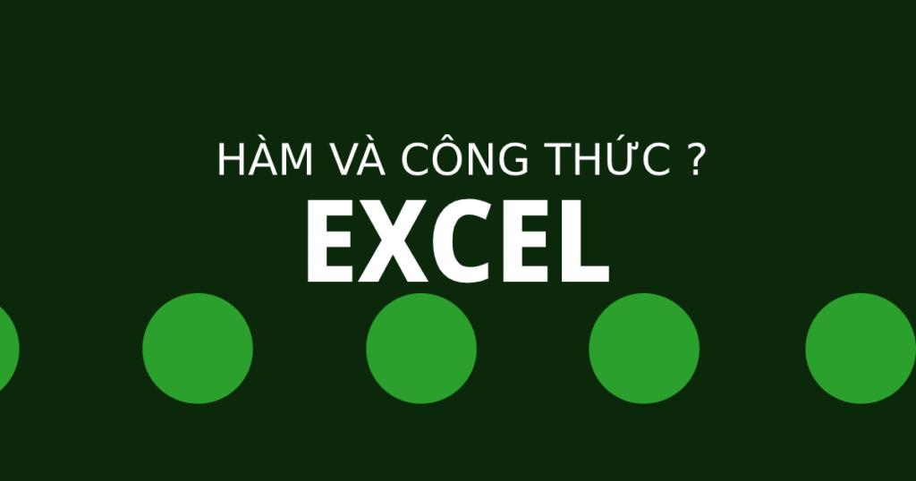 Thủ thuật hàm Excel