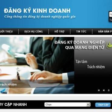 Hướng dẫn đăng ký kinh doanh qua mạng cụ thể, dễ thực hiện