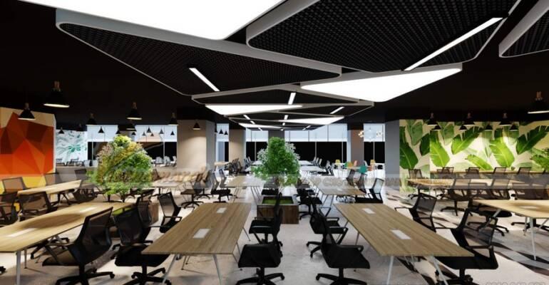Up Coworking Space đi đầu trong xây dựng không gian mở, hiện đại